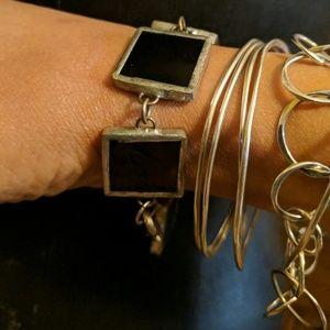🆕 Handmade stain glass bracelet